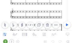 楽譜制作アプリflat